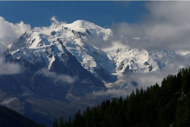 Le Mont-Blanc, ici vu depuis Emosson (Suisse).