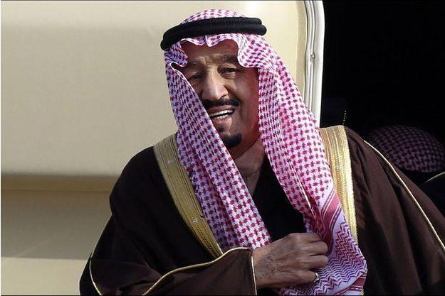 Le roi Salman d'Arabie saoudite