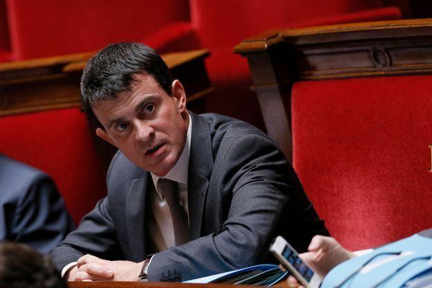 Manuel Valls à l'Assemblée nationale mardi.