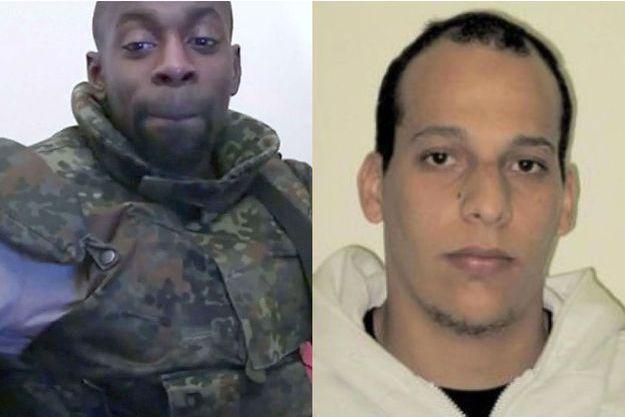 Amédy Coulibaly et Chérif Kouachi.