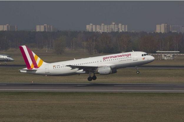 L'Airbus A320 D-AIPX de GermanWings, le 29 mars 2014.