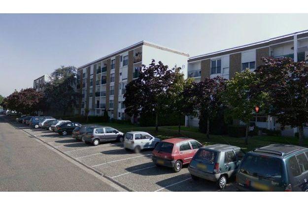 Les immeubles de la cité Garderose, à Libourne.