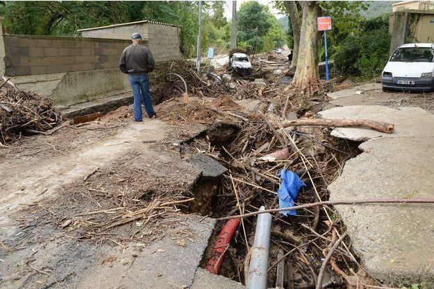 La ville de Lodève a subi les plus gros dégâts.