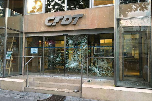 Le siège parisien de la CFDT.