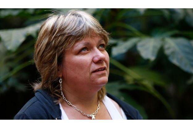 Lydia Gouardo, lors d'une interview, en mai 2008.