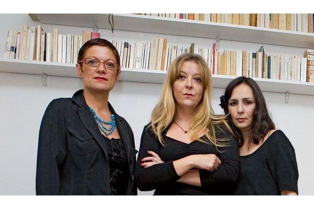 Marie, Virginie et Eva, les trois accusatrices de Georges Tron ensemble pour «ParisMatch».