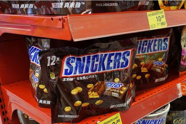 La marque Snickers est concernée par ce rappel