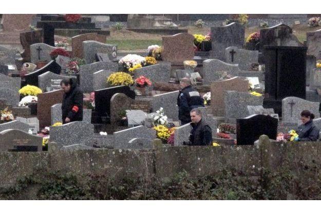 C'est dans ce cimetière que le corps sans vie de Mariam a été découvert, le 16 novembre.