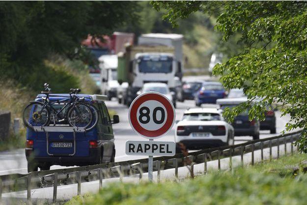 Le nombre de morts sur les routes a baissé de 2,8% en juillet (image d'illustration).