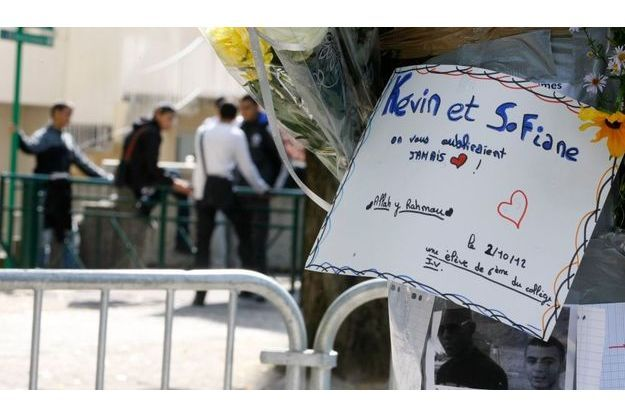Hommage à Kevin et Sofiane.
