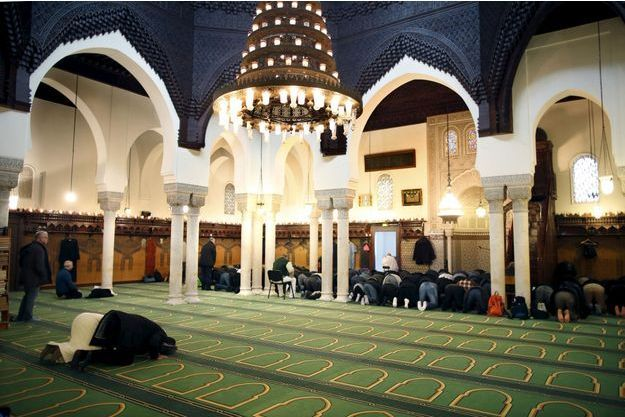 La Grande Mosquée de Paris, en janvier 2016.