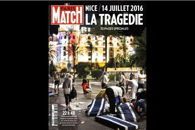 La Une du numéro 3505 de Paris Match