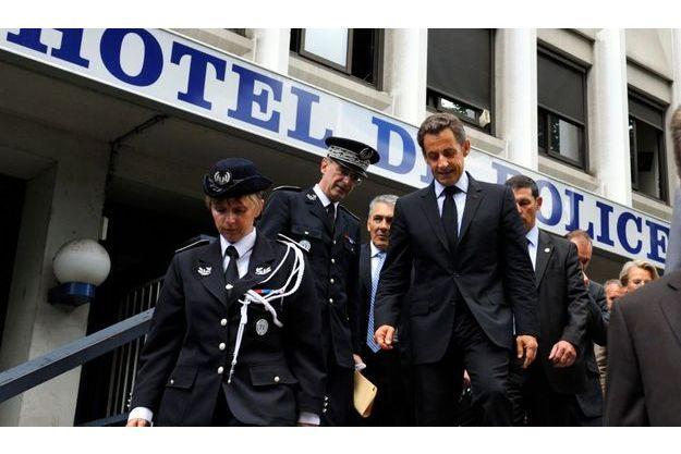 Nicolas Sarkozy a envoyé du renfort à Grenoble. Il avait rendu visite aux policiers vendredi dernier.