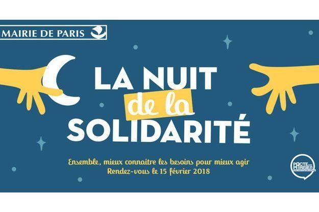 La nuit de la solidarité, le 15 janvier 2018 à Paris