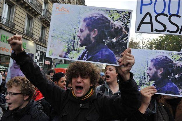 Une manifestation contre les violences policères le mois dernier.