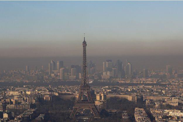 Paris respire un air très pollué depuis plusieurs jours.