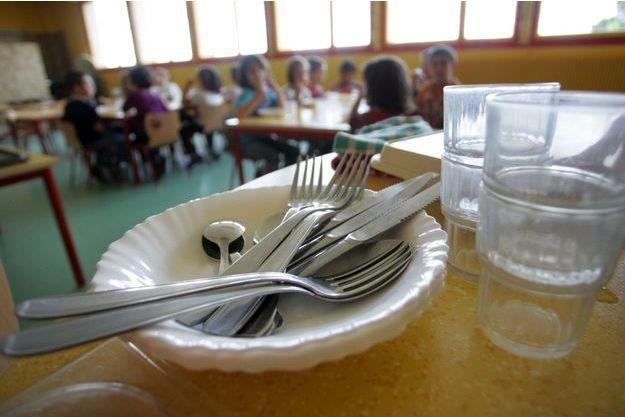 Une cantine scolaire. (photo d'illustration)
