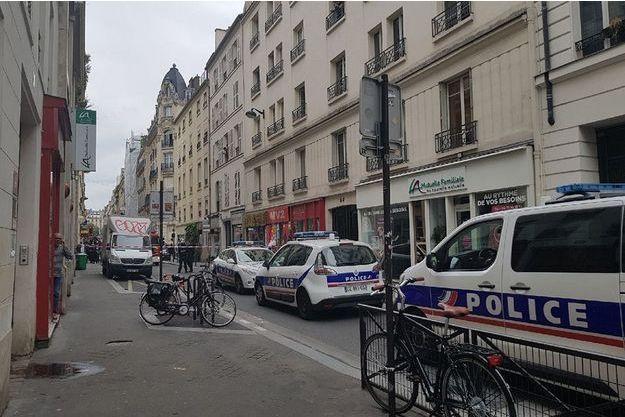 La prise d'otages s'est produite au 45 rue des petites écuries.