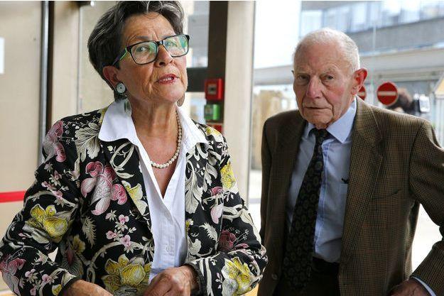 Les parents de Vincent Lambert, Viviane et Pierre Lambert.
