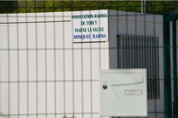 La mosquée de Torcy, fermée en avril dernier, a rouvert ses portes vendredi (image d'avril 2017).