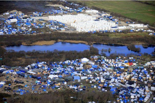 La jungle de Calais.
