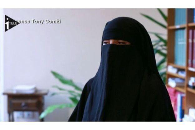 Souad Merah s'était couvert le visage afin de ne pas être reconnue, au cours de l'interview.