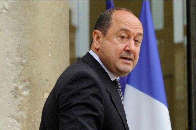 Bernard Squarcini à l'Élysée en juillet 2010