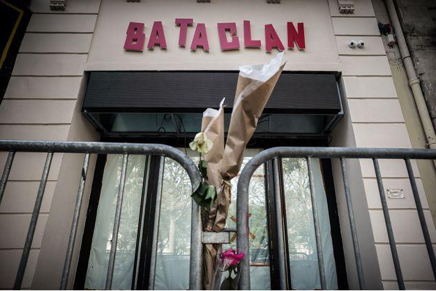 La devanture rénovée du Bataclan