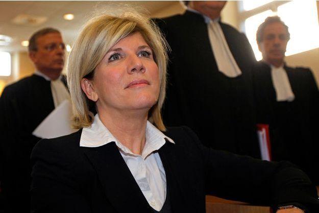 Sylvie Andrieux au tribunal correctionnel de Marseille, le 4 mars.