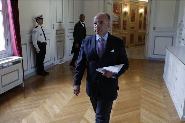 Bernard Cazeneuve, fin août à Paris.