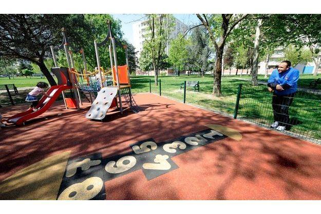 La petite fille a été enlevée dans le parc du quartier La Faourette, à Toulouse.