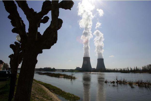 La centrale nucléaire de Belleville-sur-Loire, où les trois personnes ont été interpellées avec un drone.