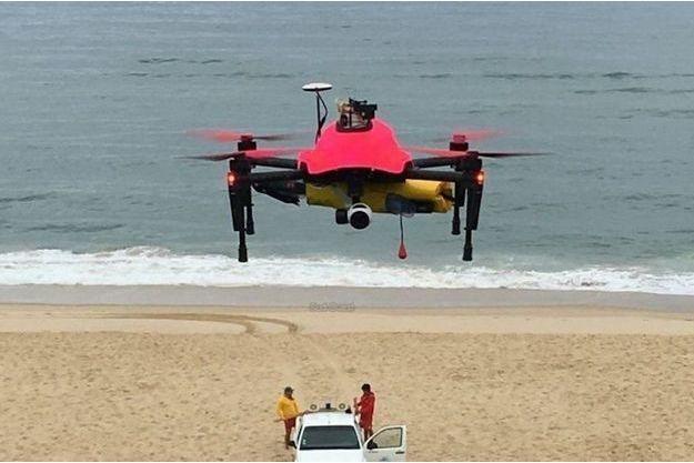 Helper le drone secouriste