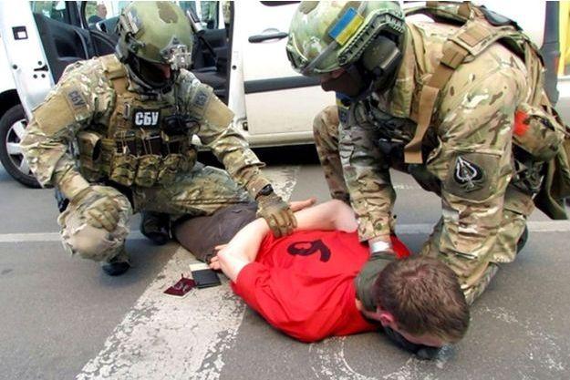 L'image a été diffusée par les services secrets ukrainiens.