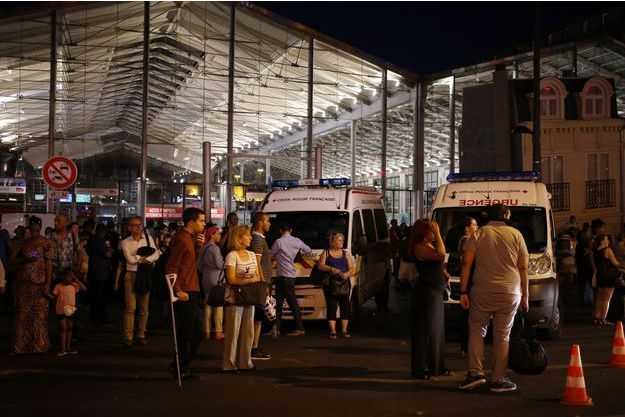 La Gare du Nord mardi soir
