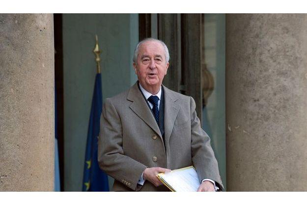 Edouard Balladur à l'Elysée en mars 2009.