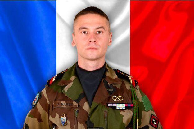 Le caporal-chef Julien Barbé