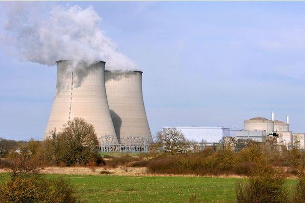 La centrale nucléaire de Belleville-sur-Loire.
