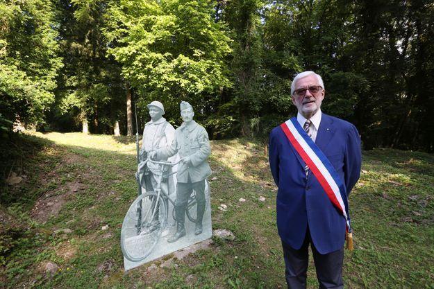 Gérard Gervaise, maire d'Haumont-près-Samogneux