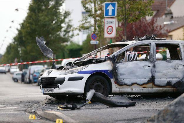 Quatre agents ont été attaqués à Viry -Châtillon, il y a un mois.