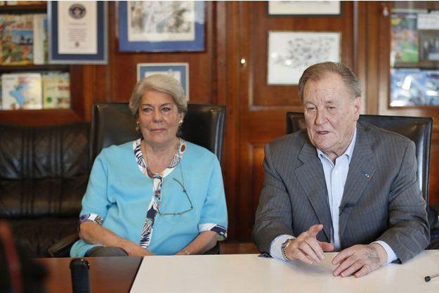 Albert Uderzo et sa femme Ada ont porté plainte contre leur fille unique.