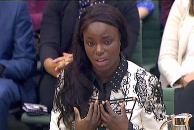 Eniola Aluko, le 18 octobre 2017 à Londres.