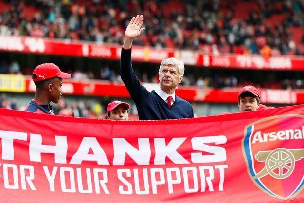 Arsène Wenger quittera Arsenal à la fin de la saison.