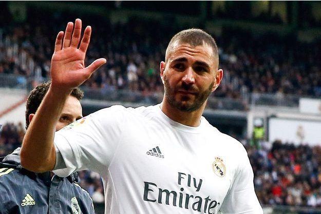 Karim Benzema, sous le maillot du Real Madrid.