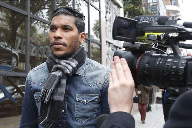 En appel, Brandao a été condamné à cinq mois de prison avec sursis.