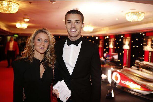 Camille et Jules Bianchi en décembre 2013.