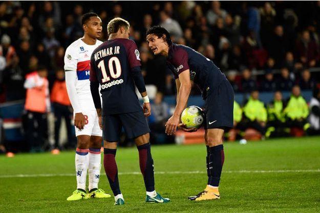 Neymar et Edison Cavani