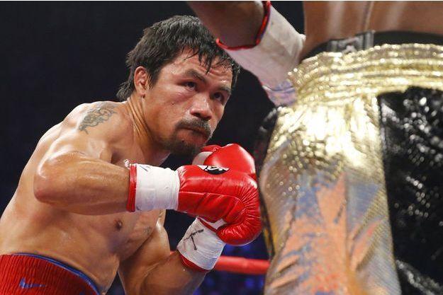 Manny Pacquiao a caché sa blessure à l'épaule