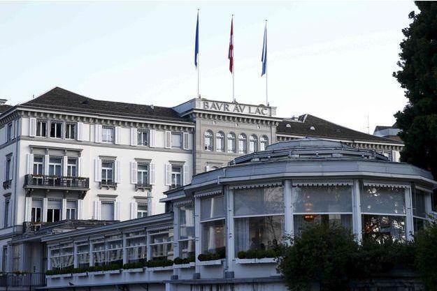Les dirigeants de la Fifa ont été interpellés à l'hôtel Baur au Lac, à Zurich.