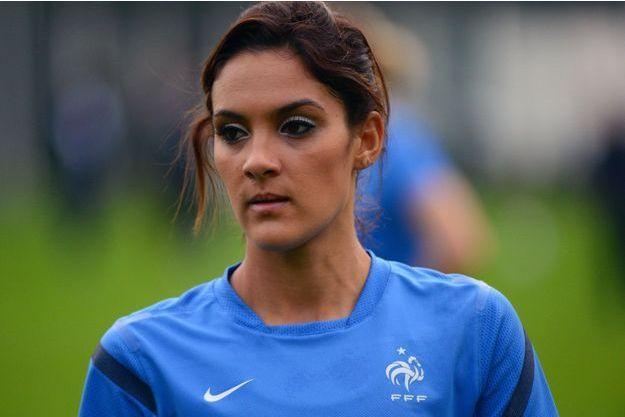 Louisa Necib joue mercredi avec les Bleues face à la Colombie.